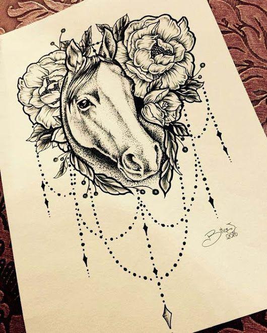 Pin By Luana Cristina On Cavalos Horse Tattoo Design Horse Tattoo Country Tattoos