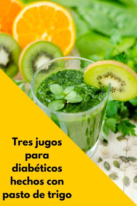 tres jugos para diabéticos