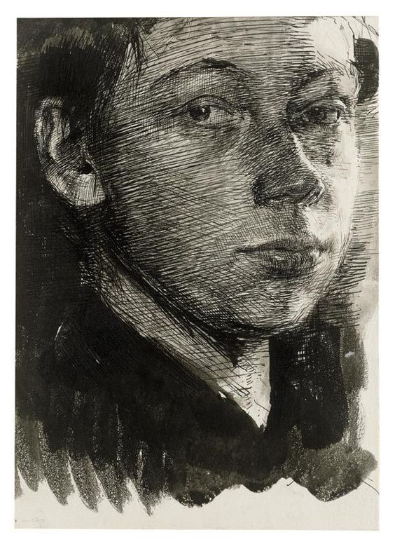 Kollwitz self portrait 1890 - - -: