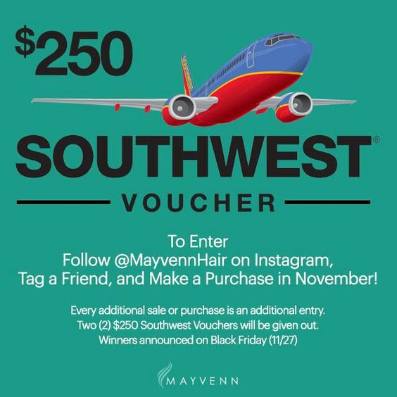 https://javore.mayvenn.com  Fly anywhere on Mayvenn and look fly at the same time! Make a purchase/sale through my Mayvenn store,  https://javore.mayvenn.com  follow us on IG and be entered to win a $250 SW voucher.