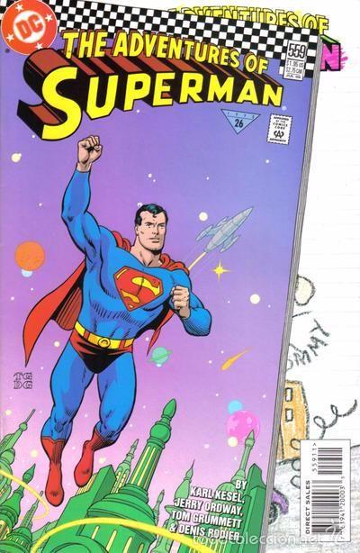 ADVENTURES OF SUPERMAN #559, DC COMICS, 1.998, USA.