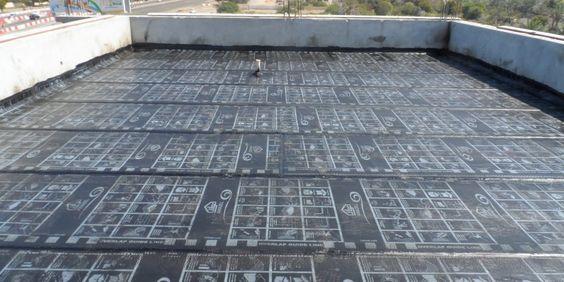معالجة تسرب الماء من سطح المنزل Flooring Tile Floor