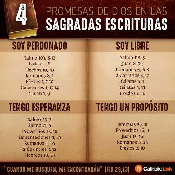 Salmo Matrimonio Biblia : Biblioteca de catholic link infografía promesas