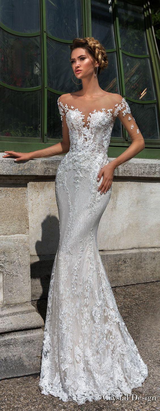 Crystal Design 2018 Wedding Dresses