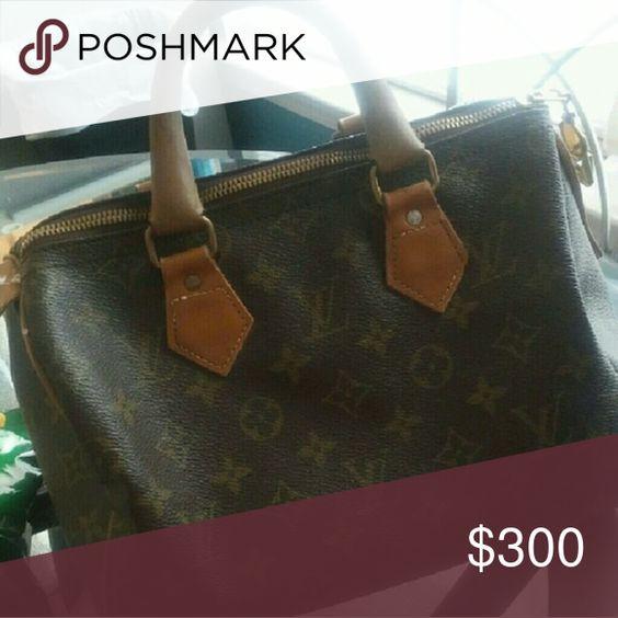 Vintage Louis Vuitton Speedy 25 Small Louis Vuitton purse Bags Mini Bags