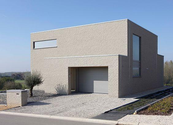 Halfopen bebouwing voorbeelden google zoeken huis pinterest modern - Huis modern kubus ...