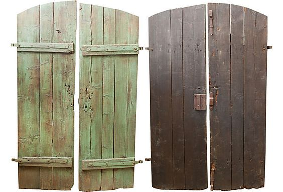 Found European Doors, Pair >> I wish I could get these, so beautiful!
