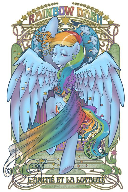 Rainbow Dash Nouveau by ~hezaa on deviantART: Rainbow Dash, Rainbowdash Xo, My Little Ponies, My Little Pony, Ponies Art, Ponies Ponies Ponies, Pony Stuff, Rainbowdash Credit