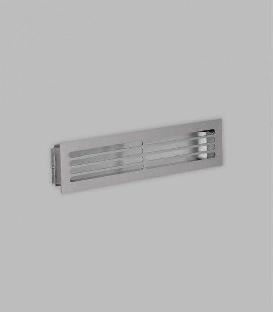 Luftungsgitter In Weiss 100 1 X 8 3 Cm Von Heibi Made In Germany Luftung Gitter Kamin