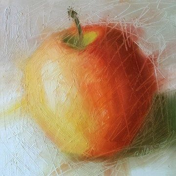 """""""About to be Peeled"""" - Original Fine Art for Sale - © Cindy Haase"""