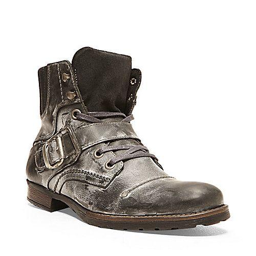GIVINN BROWN LEATHER men&39s boot casual zipper - Steve Madden | For