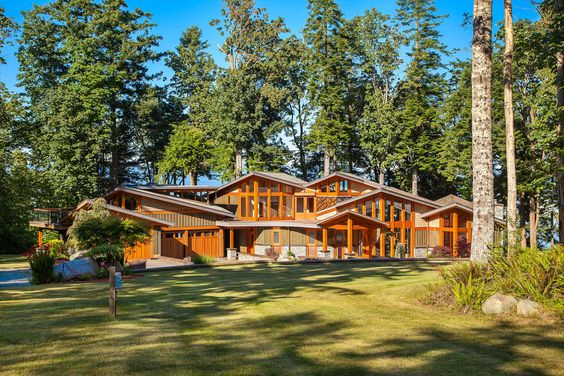 I Liked This Residential Home In Courtenay Canada Cool Houses - Ardmore hall luxury residence built by michael knight