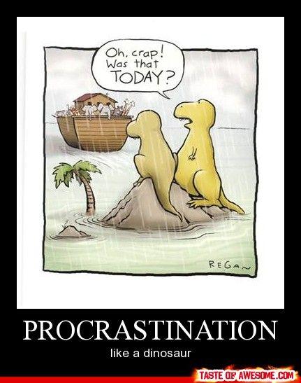 procrastination at its finest