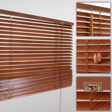 Holjalousie in verschiedenen Größen und Farben   Wooden blinds in different sizes   @jago24