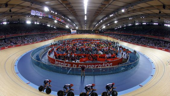 Olympic Cycling - London 2012 - New World Record Men's Team Pursuit and Gold Medal for Great Bretain
