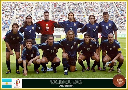 Fan Pictures 2002 Fifa World Cup South Korea Japan Argentina Team World Cup Teams Argentina Argentina Team