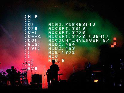 United Visual Artist Massive Attack World Tour