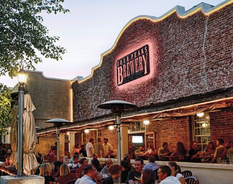 One of AZ's favorites for craft beers...Four Peaks Brewery! Apart from top beers, Four Peaks also boasts a great menu!!