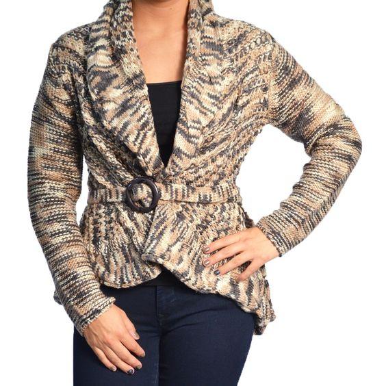 Yarn Sweater w/ Belt - AMaVo