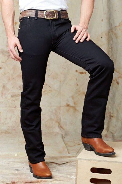 Mens Levis 501 Original Fit Jeans Black Threads And