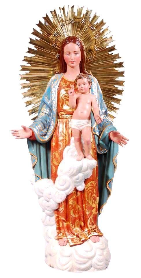 Imagen restaurada de Nuestra Señora de la Alborada