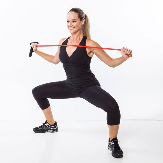 Resistance Bands Meaning: Tone Your Back, Shoulders, Arms And Legs With This