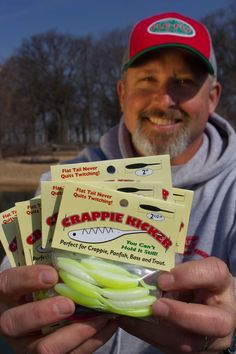 Jeff Williams with Outdoor BrandZ and Fle Fly Fishing Tackle explains how to rig, fish and color selection when fishing the new Fle Fly Crappie Kicker. Brad Wiegmann Photography