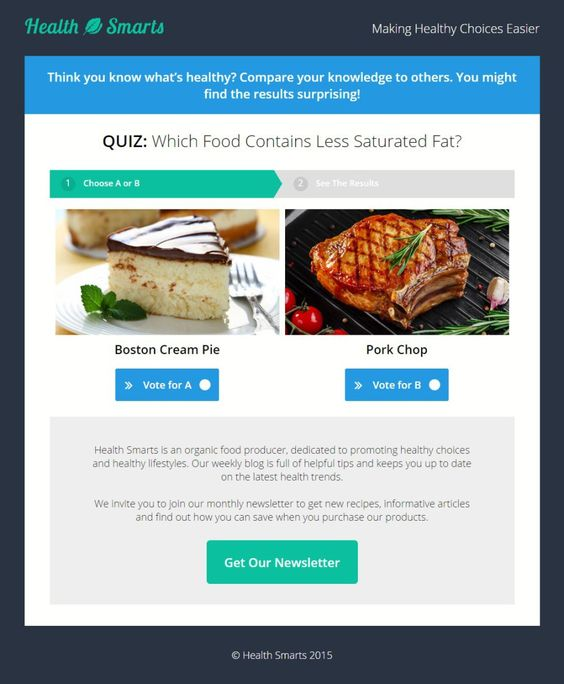 Quiz Landing Page Free Template Best Landing Pages – Free Quiz Template