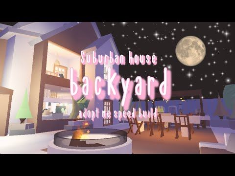 Soft Suburban Diy Rooftop Glitch House Backyard Part 2 Adopt Me Roblox Abliss Youtube Cute Room Ideas House Plans With Pictures My Home Design