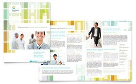 Business Solutions Consultant - Graphic Design Brochure Template