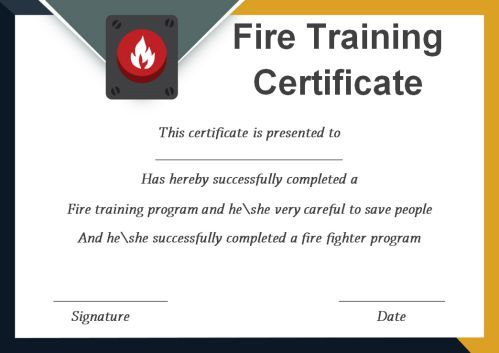 Fire Safety Certificate 10 Safety Certificate Templates Template Sumo Fire Safety Certificate Certificate Templates Training Certificate