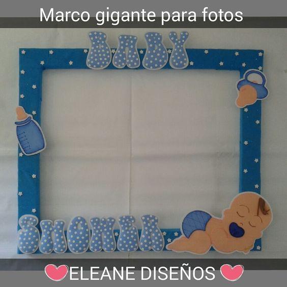 marco gigante para fotos de baby shower marcos gigantes pinterest