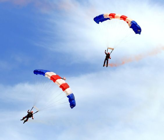 Sky Diving Skydiving Parachute Paragliding
