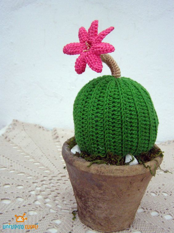 Ornaments – CROCHET CACTUS – a unique product by cucali on DaWanda: