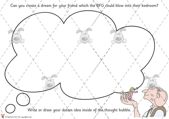 The Bfg Printables Http://activities
