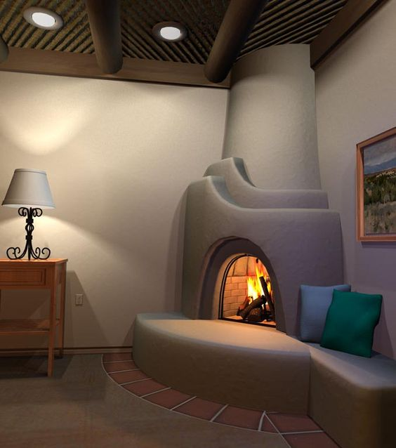 kiva+bathroom+fire | kiva fireplace kits fireplace accessories wall grill kiva fireplace ...