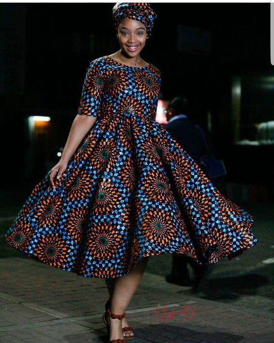 Best South African Shweshwe Designs (2018)