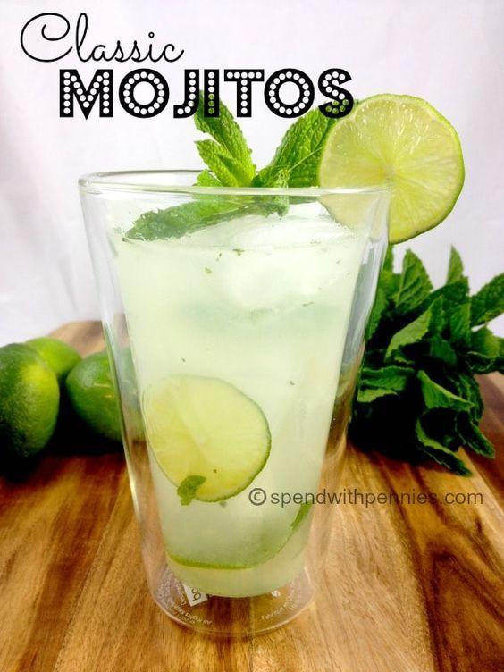 Classic Mojitos 1 Mojito Recipe Classic Fruity Drinks Mojito