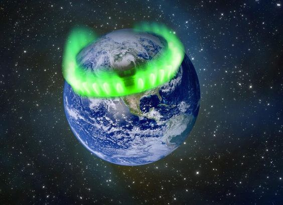 NASA Earth northern lights from space | had the best view from space of the northern lights ring of fire last ...