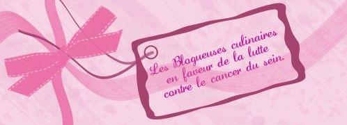 Octobre est le mois de sensibilisation des femmes au dépistage du cancer du sein. Le rose est la couleur de cette campagne annuelle, alors modestement à mon niveau J'apporte ma pierre à cet édifice en vous proposant une recette en rose. Rien à voir avec...