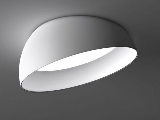 LED verstellbare Vorbauleuchte SUPERDOME RECESSED by Delta Light