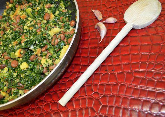 Migas de Couve - Receita - Be & Me Cuisine