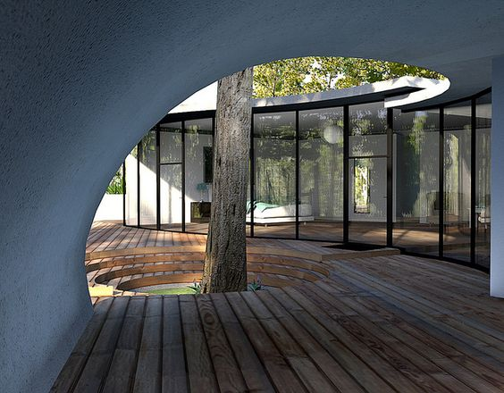 Curved Glass House | Flickr - Photo Sharing!