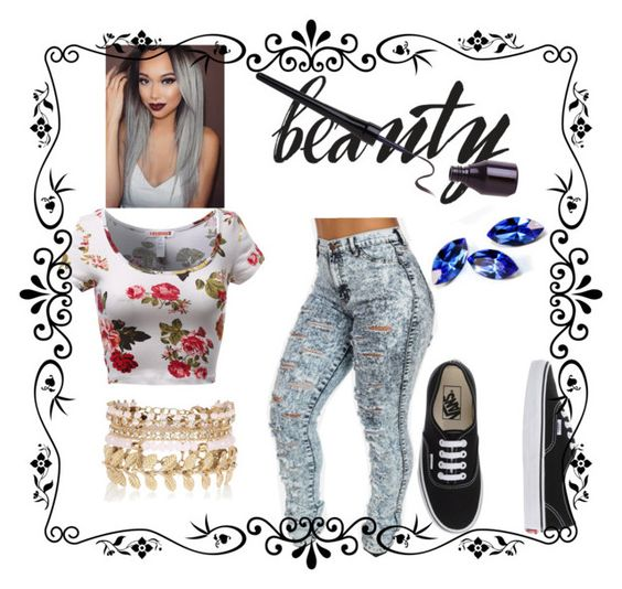 """Untitled #7"" by funbratz on Polyvore featuring River Island, Vans, women's clothing, women, female, woman, misses and juniors"