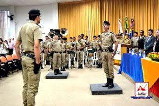 Folha do Sul - Blog do Paulão no ar desde 15/4/2012: TRÊS CORAÇÕES: 16ª Cia PM Ind tem novo Comandante