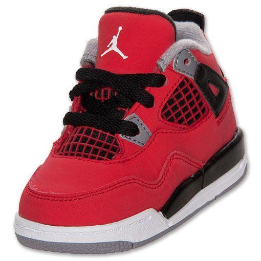 Boys' Toddler Jordan Retro 4 Basketball Shoes   FinishLine.com ...