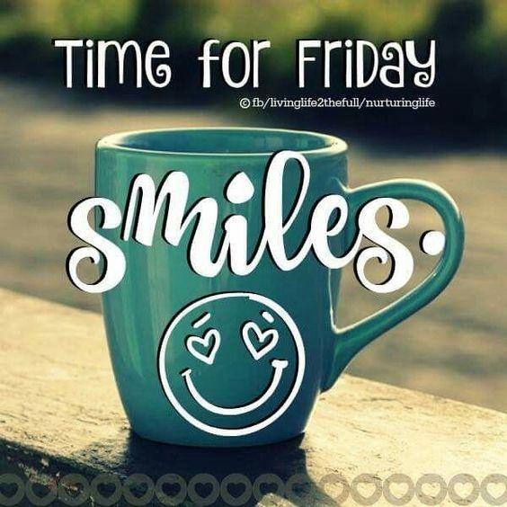 Good Morning, Happy Friday ☕