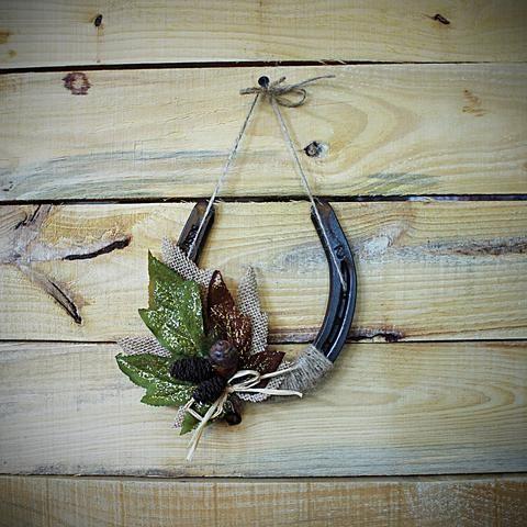 Rustic Horseshoe Wall Cross Horseshoe Crafts Door Crafts