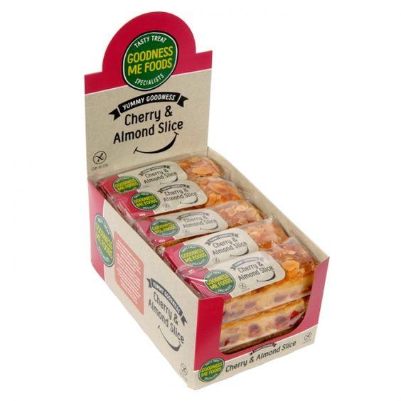 Cherry & Almond Slice