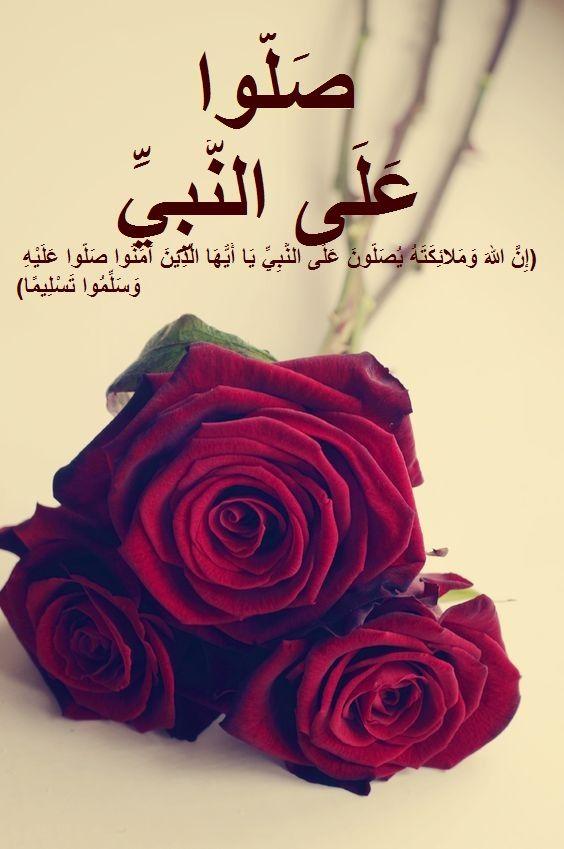 صلوا على الحبيب المصطفى صلى الله عليه وسلم Islamic Quotes Islam Rose